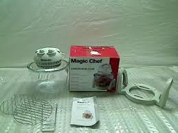 magic chef 1 8 gallon glass bowl convection oven