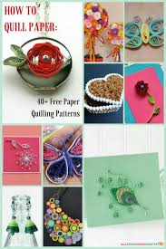 Quilling Patterns Awesome How To Quill Paper 48 Free Paper Quilling Patterns