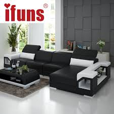 living room stylish corner furniture designs. Stylish Sofa Sets For Living Room IFUNS Brillancy Orange Genuine Leather Corner Sofas Modern Design L Furniture Designs