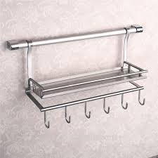wall mounted stainless steel kitchen utensil holder for rack designs 14