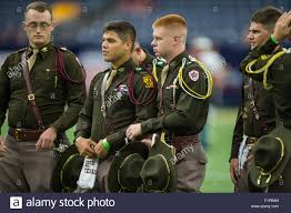 Texas A M Corps Of Cadets Houston Tx Usa 5th Sep 2015 Members Of The Texas A M Aggies