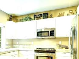 above kitchen cabinet decorations. Unique Above Above Kitchen Cabinet Decorations Decorating Ideas  Medium Size Of  In E