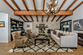 Classy Rustic Living Room Interior With Modern Elements - Modern rustic dining roomodern style living room furniture