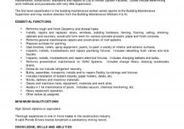 Carpenter Foreman Resume New Foreman Carpenter Construction Worker ...