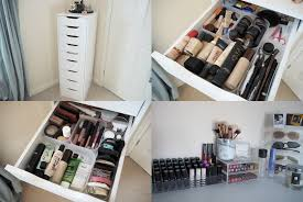 i was going through my makeup the other day and doing a bit of organising when i decided to put together a little post on all of my makeup and storage