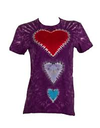 Tie Dye Heart Design Girls Try This Heart Design Tie Dyd T Shirt You Will Look