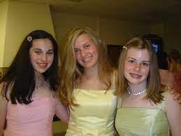 Sallie Hays and Sarah Levenstam | 8th grade graduation Washb… | Flickr