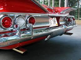 1960 Impala rear end...man that looks cool | Chevy Impala ...