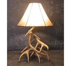 deer antler table lamps