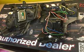 ford raptor recon led projector headlights apexlighting F150 Trailer Wiring Diagram at Wiring Harness Ford Raptor