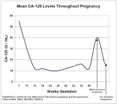 Ca 125 Levels Chart Adnexal Masses In Pregnancy