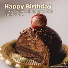 happy birthday best chocolate cake