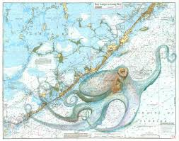 Key Largo Chart Keys Octopus Florida Keys Nautical Map Printable Maps