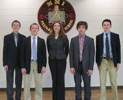 "mmi students win holocaust essay contest news jennifer novotney mmi english teacher and faculty advisor for the competition said ""i am so proud of all four of the essay contest winners the holocaust"