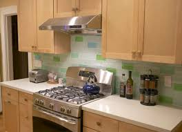kitchen backsplash glass tile white cabinets. Decorating The Interior Using Subway Tile Backsplash: Simple Design Iridescent Glass Backsplash Kitchen White Cabinets