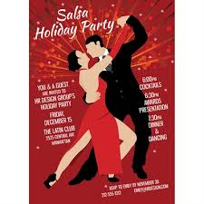 Dance Invitation Ideas Salsa Dance Party Invitation