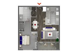 Contemporary 1 Bedroom Apartment Atlanta Intended For Studio 2 Apartments  In Highland Walk