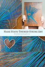 How To Do String Art Best 25 String Art States Ideas On Pinterest Texas String Art
