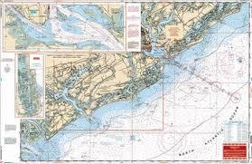 Charleston Nautical Chart Charleston Sc Nautical Map Chart Image Nautical Chart