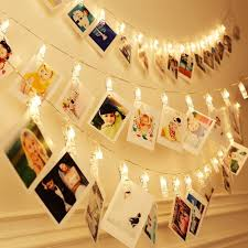 Photo Clip String Lights Walmart 40 Led Photo Clips String Lights Christmas Indoor Fairy String Lights For Hanging Photos Pictures Cards And Memos Ideal Gift For Dorms Bedroom