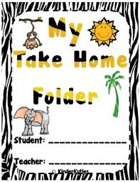 Jungle Safari Zoo Animal Print Theme Folder Binder Covers