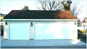 how much to install a garage door opener new garage door cost garage door opener installation