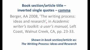 Essay Writing Handbook Structure Of Your Essay School Of Quoting