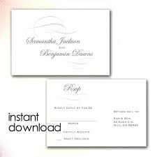 Free Rsvp Template Cards Template Free Free Rsvp Template Online