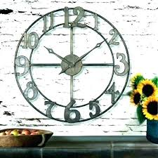 rustic wall clock rustic wall clock oversized clocks large vintage target extra large rustic wall clocks