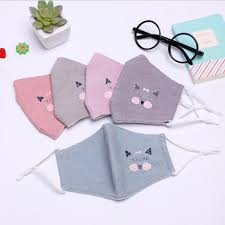 Cute Mouth Mask Designs Us 1 41 36 Off Cartoon Cats Design Boys Girls Kids Cotton Masks Anti Pollution Cute Children Mouth Mask Windproof Anti Dust Face Masks In Masks From