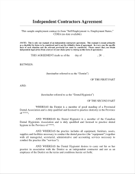 Self Employment Agreement Self Employment Contract Template 24 Infantry 1