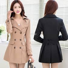 plus size autumn winter coat trench coat for women m 4xl