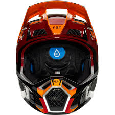 Fox Rampage Pro Carbon Beast Fullface Helmet Ice