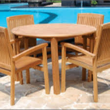 Outdoor Teak Furniture Table And 4 Chairs $599 Free Delivery