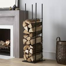 Crate & Barrel Frame Log Holder