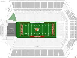 Razorback Stadium Arkansas Seating Guide Rateyourseats Com