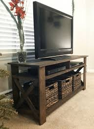 Enchanting How To Build A Rustic Tv Stand 44 For Small Home Remodel Ideas  With How