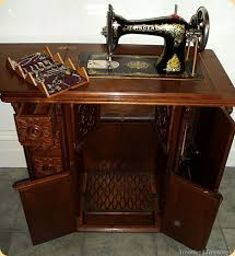 Sourcing Wood for Furniture Then & Now The Singer Sewing Machine