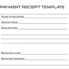 Receipt Builder Sample Of Receipt Form Doc Printable Cash Template Free For