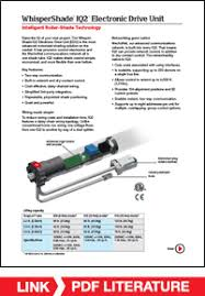 mechosystems whispershade iq s cutsheet