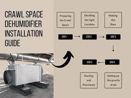 install a crawl space dehumidifier