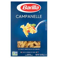 barilla pasta campanelle lb com barilla pasta campanelle 1 0 lb