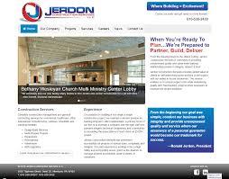 Everett Web Design Jerdon Construction Services On Behance