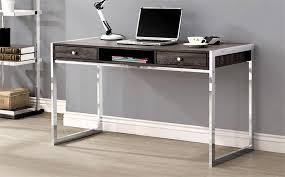 chrome office desk. Weathered-grey-chrome-office-desk.jpg Chrome Office Desk D