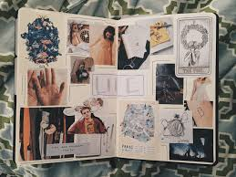 Inspirational Collages An Inspirational Lifestyle Collage In My Bujo Bulletjournal