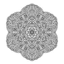 Small Picture Mandala Coloring Pages 5 Coloring Kids