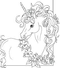 Unicorn Colouring Pages Online Unicorn Coloring Kids Pages Online