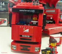 A driver, team truck driver and 4 team crew members. Lego Speed Champions 75913 F14 T Scuderia Ferrari Truck Joyful Bricks