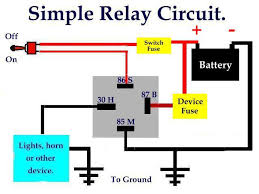 basic relay circuit diagram ireleast info bosch horn relay wiring diagram bosch auto wiring diagram schematic wiring circuit