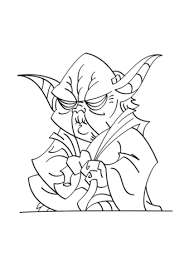 Small Picture Yoda coloring page Free Printable Coloring Pages